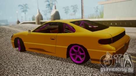 Alpha Drift для GTA San Andreas вид сзади слева