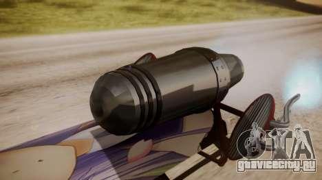 Hovercraft Anime для GTA San Andreas вид сзади слева