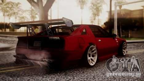 Buffalo R3 (Highly Tuned) для GTA San Andreas вид слева