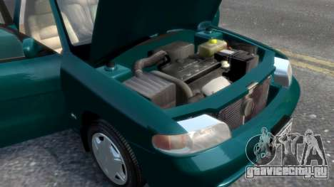 Daewoo Nubira I Sedan SX USA 1999 для GTA 4 двигатель