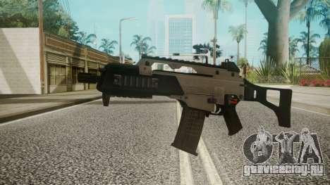 G36C Silver для GTA San Andreas