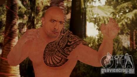 WWE 2K15 The Rock для GTA San Andreas
