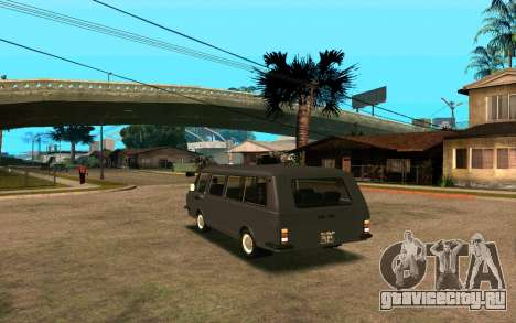 РАФ-2203 для GTA San Andreas вид сзади слева