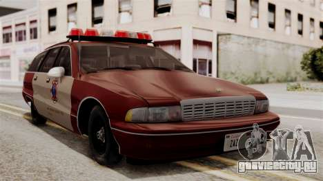 Chevy Caprice Station Wagon 1993-1996 SACFD для GTA San Andreas