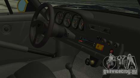 RUF CTR Yellowbird 1987 для GTA San Andreas вид справа