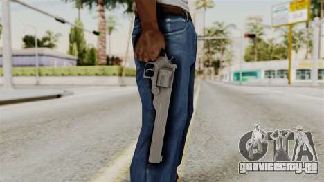 Desert Eagle from RE6 для GTA San Andreas третий скриншот