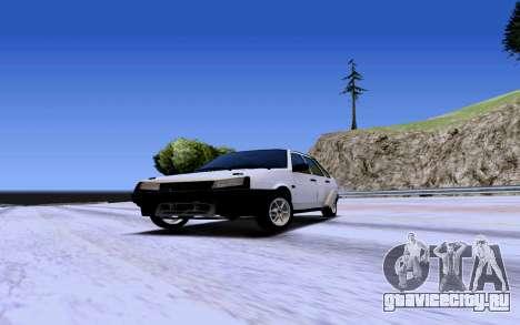 ВАЗ 2109 Турбо для GTA San Andreas вид слева
