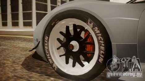 Porsche 918 RSR для GTA San Andreas вид сзади слева