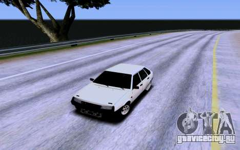 ВАЗ 2109 Турбо для GTA San Andreas салон