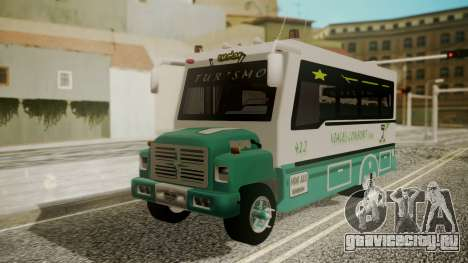 Chevrolet B70 Bus Colombia для GTA San Andreas