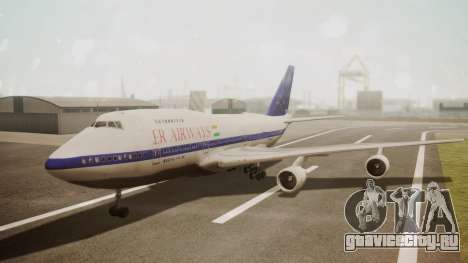 Boeing 747SP ER Airways для GTA San Andreas