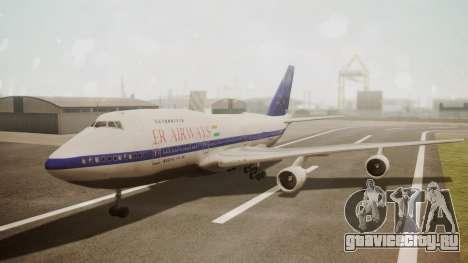 Boeing 747SP ER Airways для GTA San Andreas