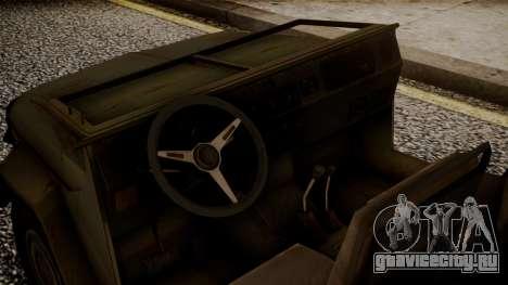 UAZ MGS5 TPP для GTA San Andreas вид справа