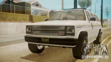 GTA 5 Declasse Rancher XL Police для GTA San Andreas