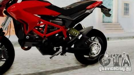 Ducati Hypermotard для GTA San Andreas вид справа