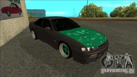 Nissan 200sx Drift для GTA San Andreas вид слева