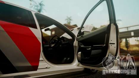 Mitsubishi Lancer Evolution X 2015 Final Edition для GTA San Andreas вид сбоку