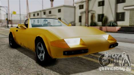 Stinger from Vice City Stories для GTA San Andreas вид справа