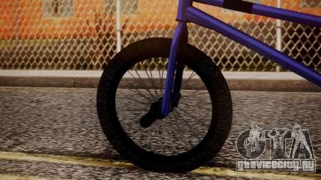 Nueva BMX для GTA San Andreas вид сзади слева