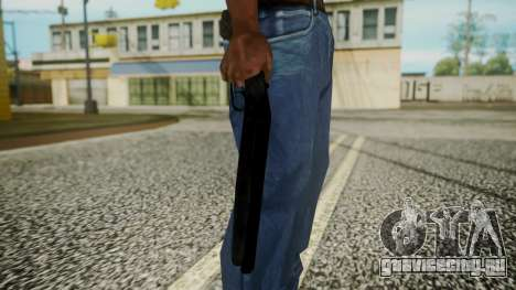 Sawnoff Shotgun (Iron Version) для GTA San Andreas