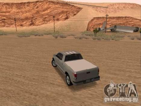 Toyota Tundra для GTA San Andreas вид слева