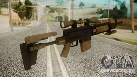 Sniper Rifle from RE6 для GTA San Andreas второй скриншот