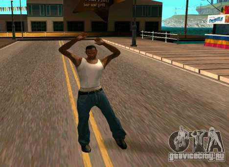 50 Animations v1.0 для GTA San Andreas