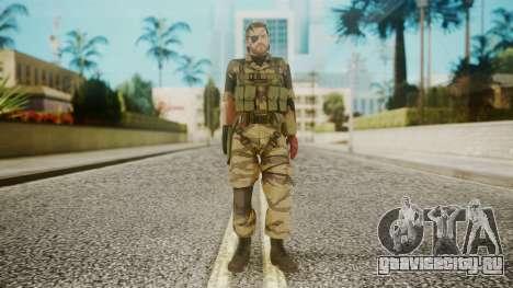 Venom Snake Tiger Stripe для GTA San Andreas второй скриншот