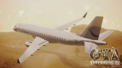 Embraer 170-100 Air Costa для GTA San Andreas вид слева