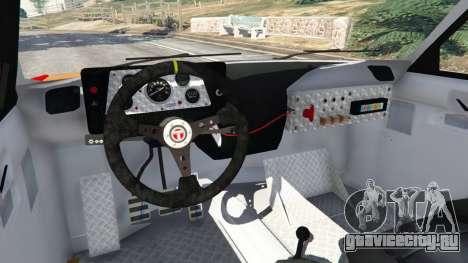 Talbot Samba для GTA 5 вид сзади справа