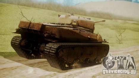 Heavy Tank M6 from WoT для GTA San Andreas вид слева