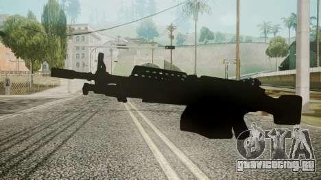 M249 Battlefield 3 для GTA San Andreas второй скриншот