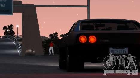 Sabre Vigero Muscle Car для GTA 4 вид справа
