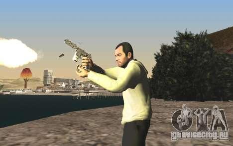 GTA 5 Tec-9 для GTA San Andreas одинадцатый скриншот
