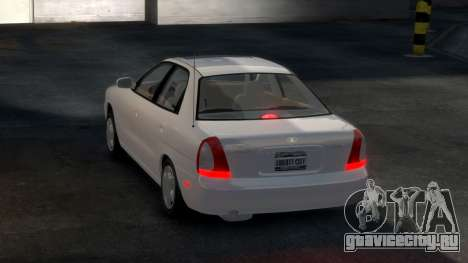 Daewoo Nubira I Sedan SX USA 1999 для GTA 4 вид справа