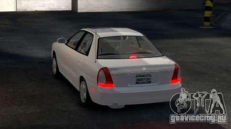 Daewoo Nubira I Sedan SX USA 1999 для GTA 4 вид справа