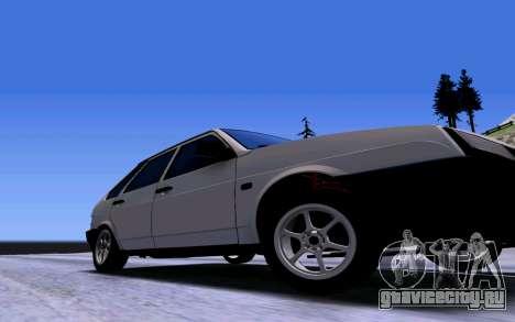 ВАЗ 2109 Турбо для GTA San Andreas вид сбоку