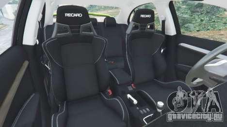 Mitsubishi Lancer Evolution X FQ-400 для GTA 5 колесо и покрышка