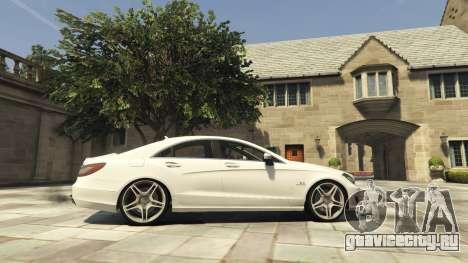 Mercedes-Benz CLS 6.3 AMG [BETA] для GTA 5 вид слева