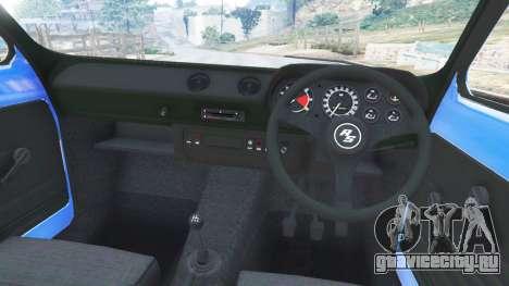 Ford Escort Mk1 v1.1 [blue] для GTA 5 вид справа