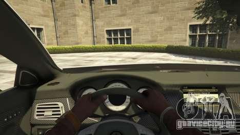 Mercedes-Benz CLS 6.3 AMG [BETA] для GTA 5 вид сзади