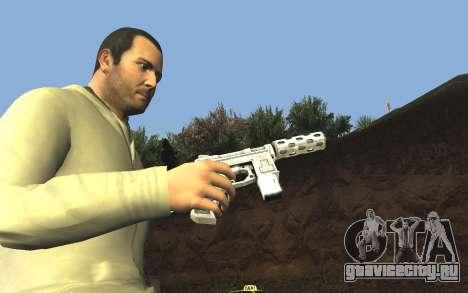 GTA 5 Tec-9 для GTA San Andreas седьмой скриншот