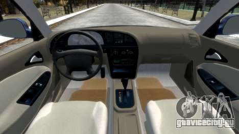 Daewoo Nubira II Sedan SX USA 2000 для GTA 4 вид сбоку