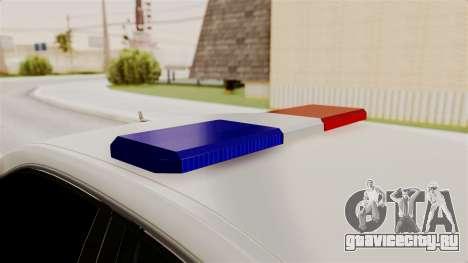 Mercedes-Benz Е500 МВД ГИБДД для GTA San Andreas вид изнутри
