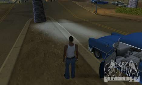 Realistic Lights для GTA San Andreas пятый скриншот