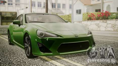 Toyota GT86 2012 для GTA San Andreas салон