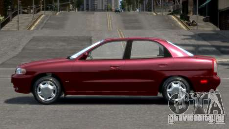 Daewoo Nubira I Sedan SX USA 1999 для GTA 4 вид слева