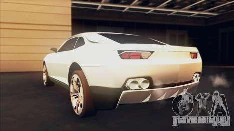 Chevrolet Camaro DOSH Tuning v0.1 Beta для GTA San Andreas вид слева