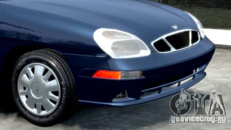 Daewoo Nubira II Sedan SX USA 2000 для GTA 4 вид изнутри