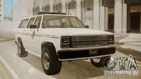 GTA 5 Declasse Rancher XL Police IVF для GTA San Andreas